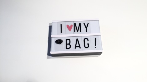 I love my super Bag Light Box